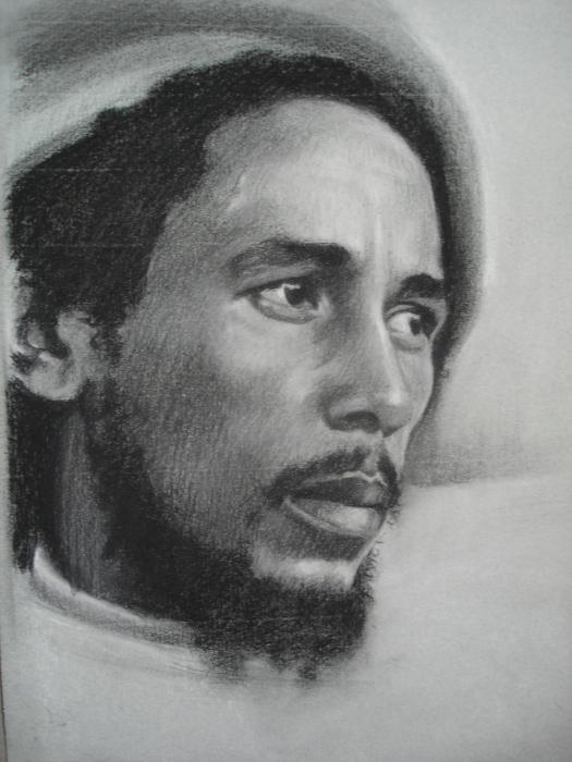 Bob Marley by ceceach